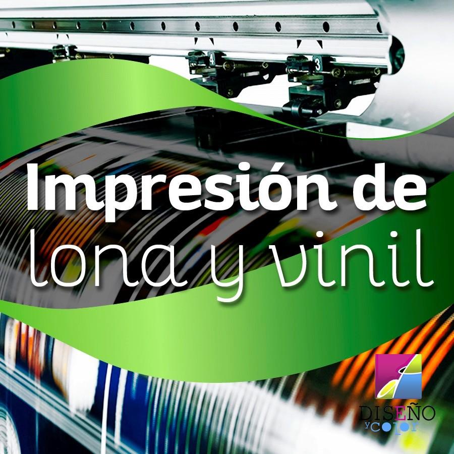 IMPRESION DE LONA Y VINIL