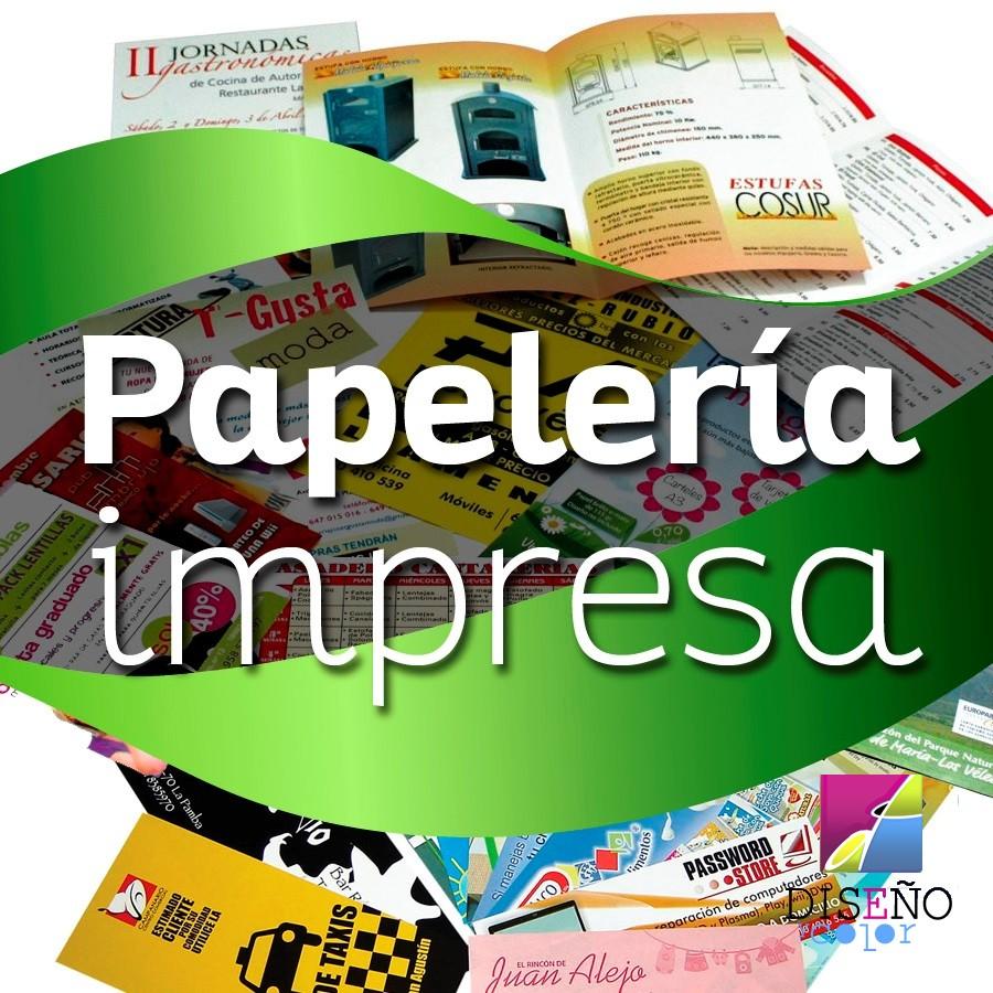 IMPRESIÓN DE PAPELERIA
